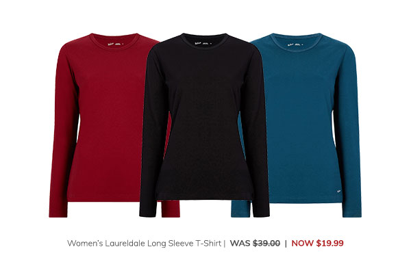 Women's Laureldale Long Sleeve T-Shirt Was: $39.00 Now: $19.99