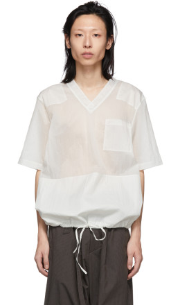 Helmut Lang - Off-White Uniform T-Shirt