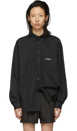 Vetements - Black Metal Ring Shirt