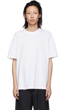 Helmut Lang - White Aviator T-Shirt