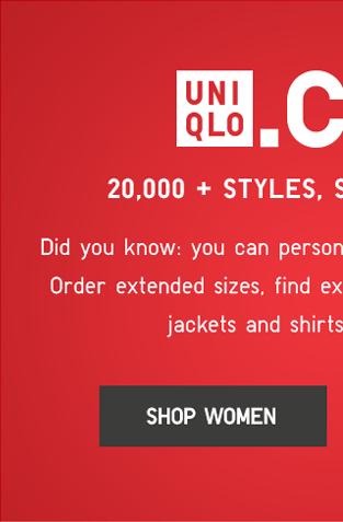 UNIQLO.COM - SHOP WOMEN