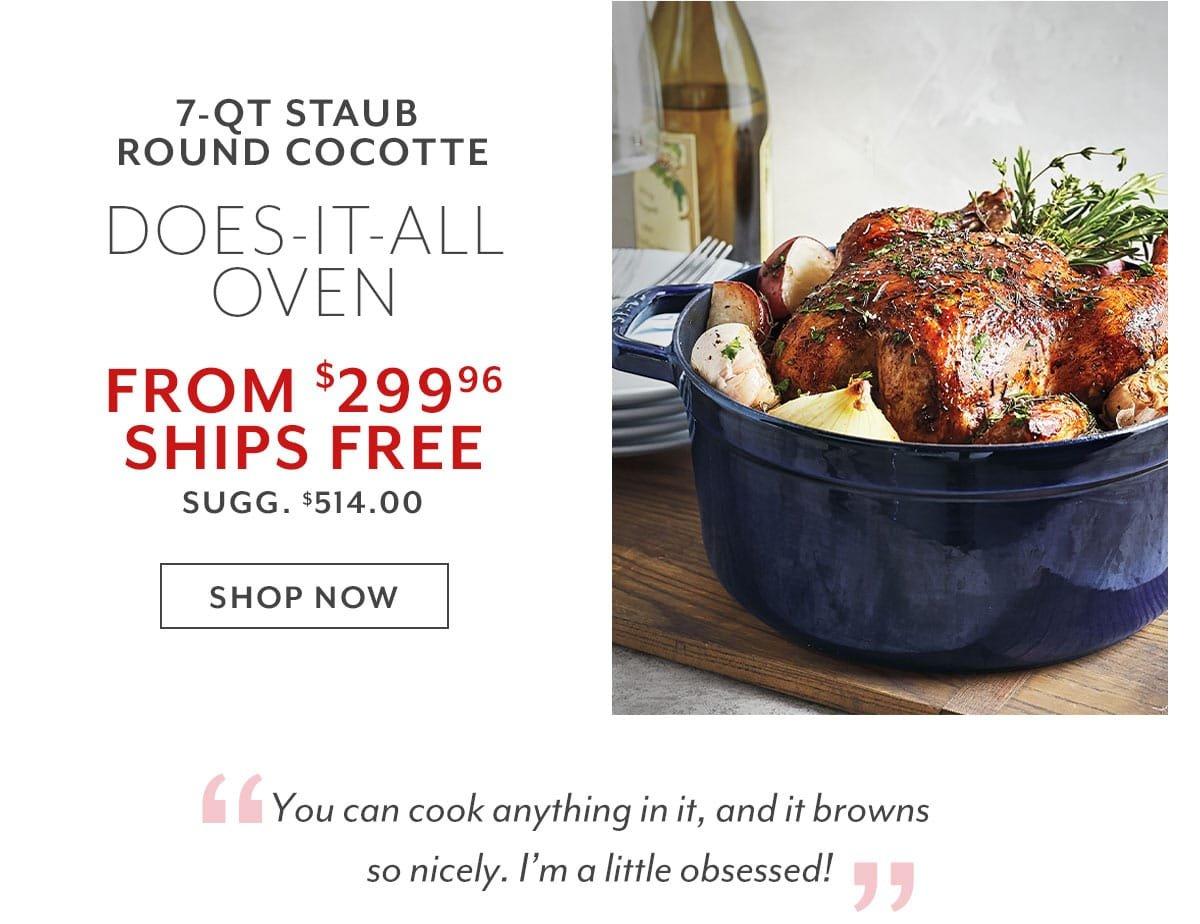 Round Cocotte, 7 qt.