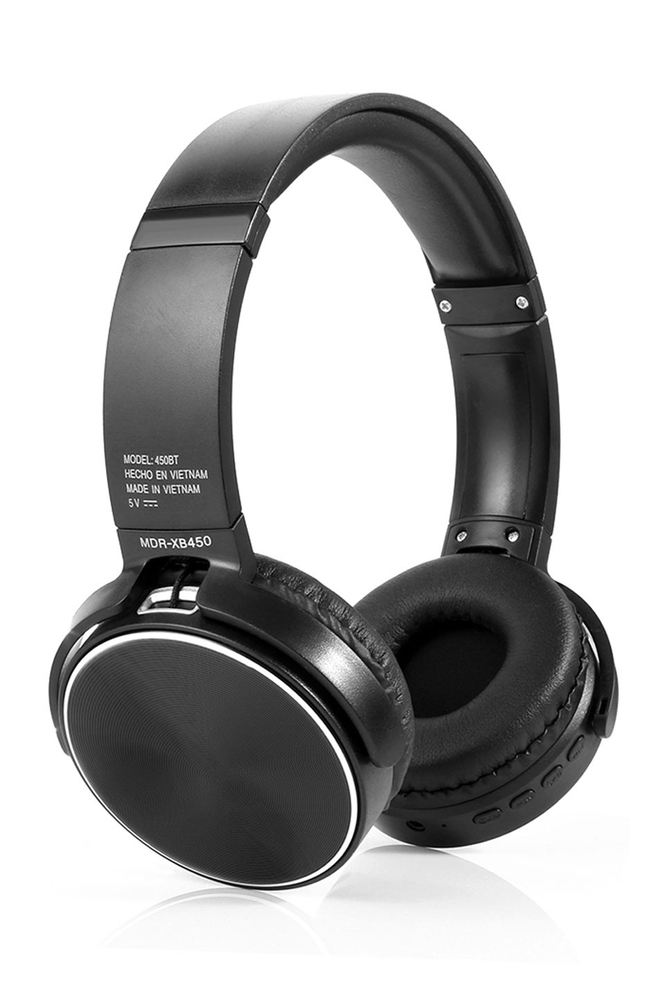 Multi-Function Bluetooth Headphones in Black