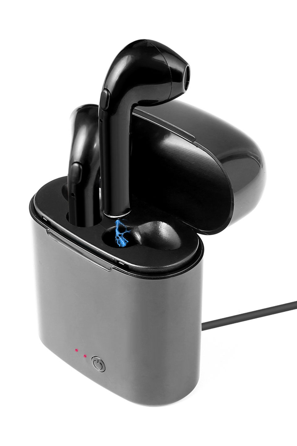Bluetooth Earbuds in Black
