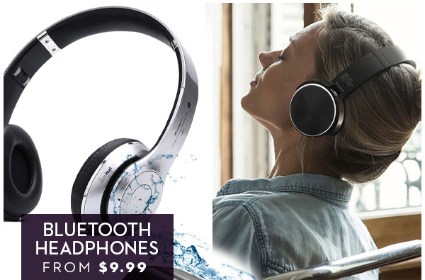 FLASH SALE: BLUETOOTH HEADPHONES