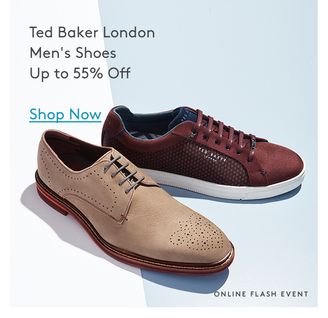 Ted Baker London | Men's Shoes | Up to 55% Off | Shop Now | Online Flash Event