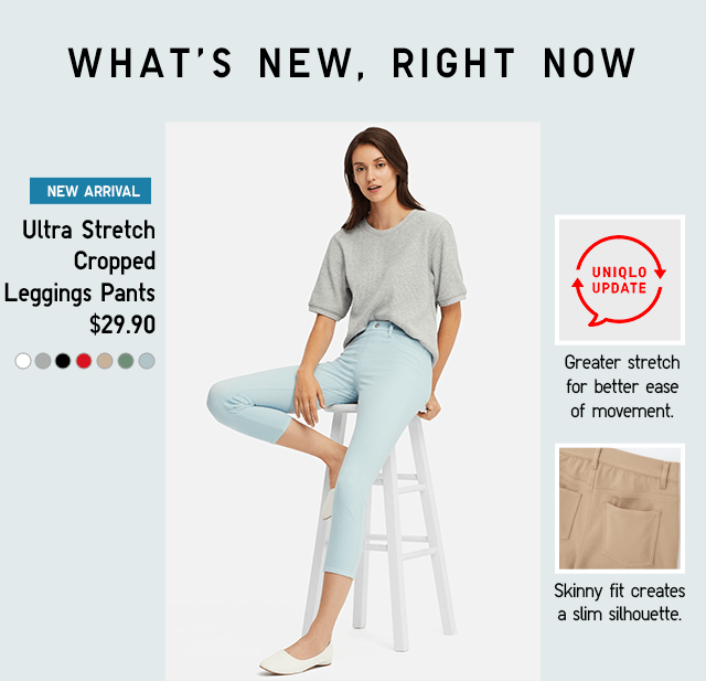 ULTRA STRETCH CROPPED LEGGINGS PANTS $29.90