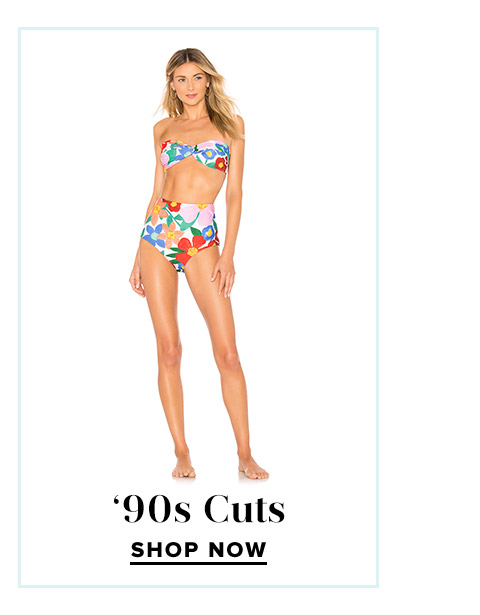 Shop Our Favorite Swim Trends: '90s Cuts