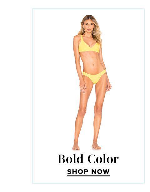 Shop Our Favorite Swim Trends: Bold Color