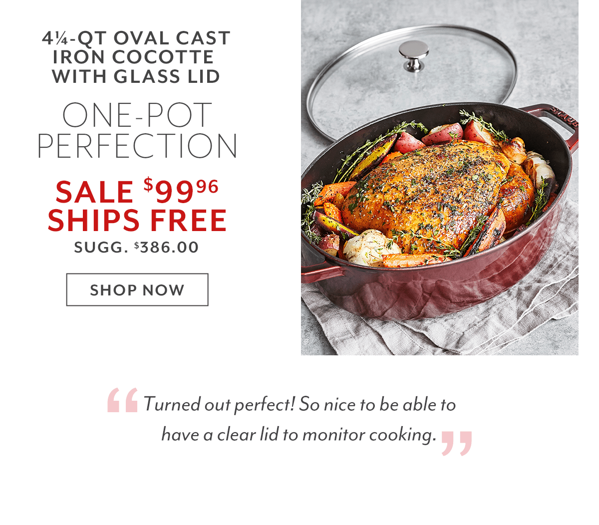 Oval Cast Iron Cocotte