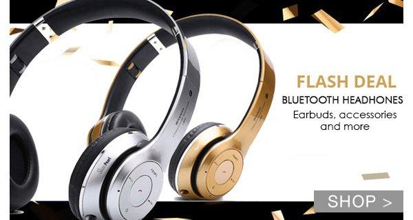FLASH SALE: BLUETOOTH HEADPHONES