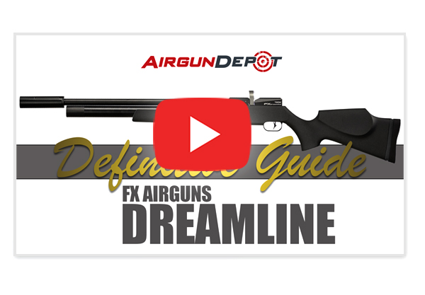Airgun Depot: New! Definitive Guide to the FX Dreamline | Milled