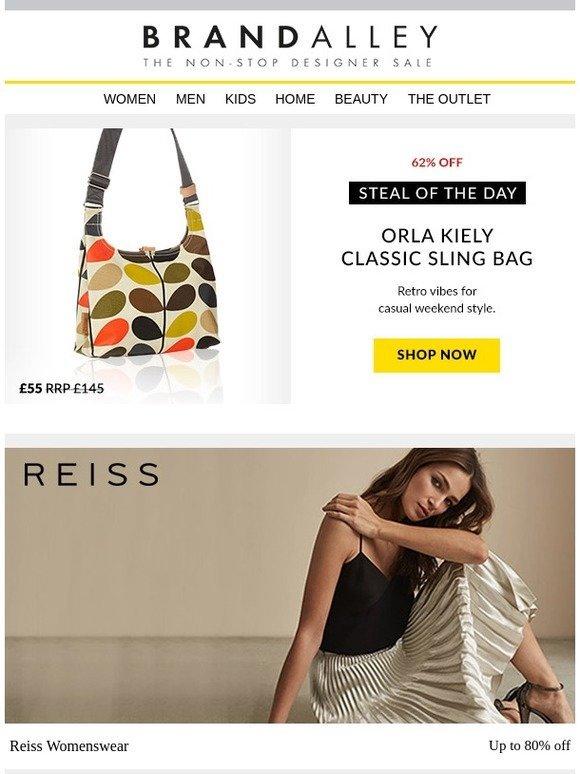 1a7800c9d brandalley uk limited: Up to 80% off Reiss Womenswear & Menswear. Plus  Calvin Klein Golf, Orla Kiely, Trespass Ski, Slipper Clearance, Cottonreal,  ...