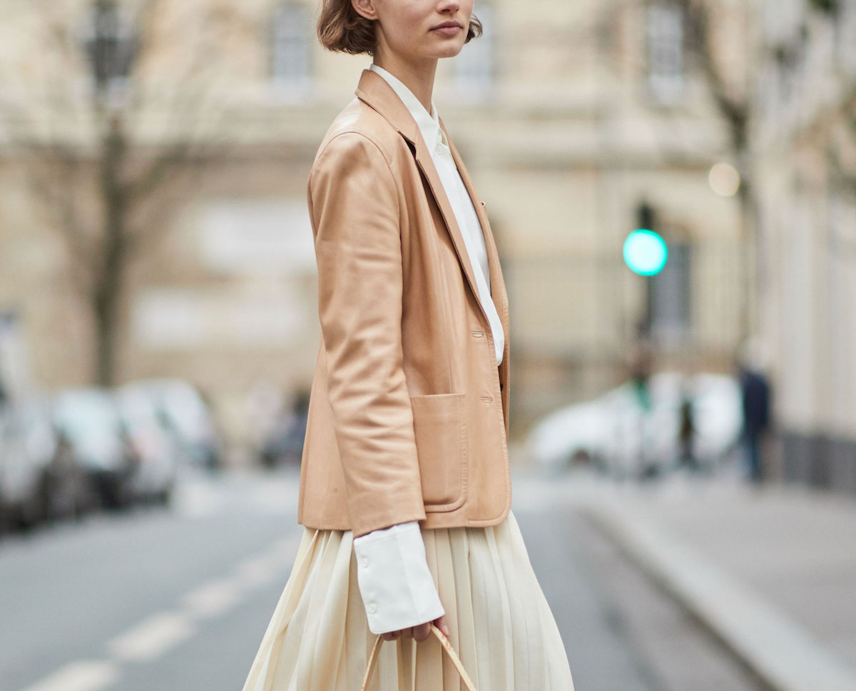 Fashion Uniform: Double-Breasted Coat + Structured Crossbody + Easy Bottoms