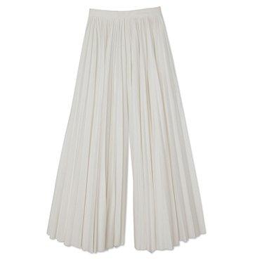 Khaite Keira Pleated Cotton Pants $1,080