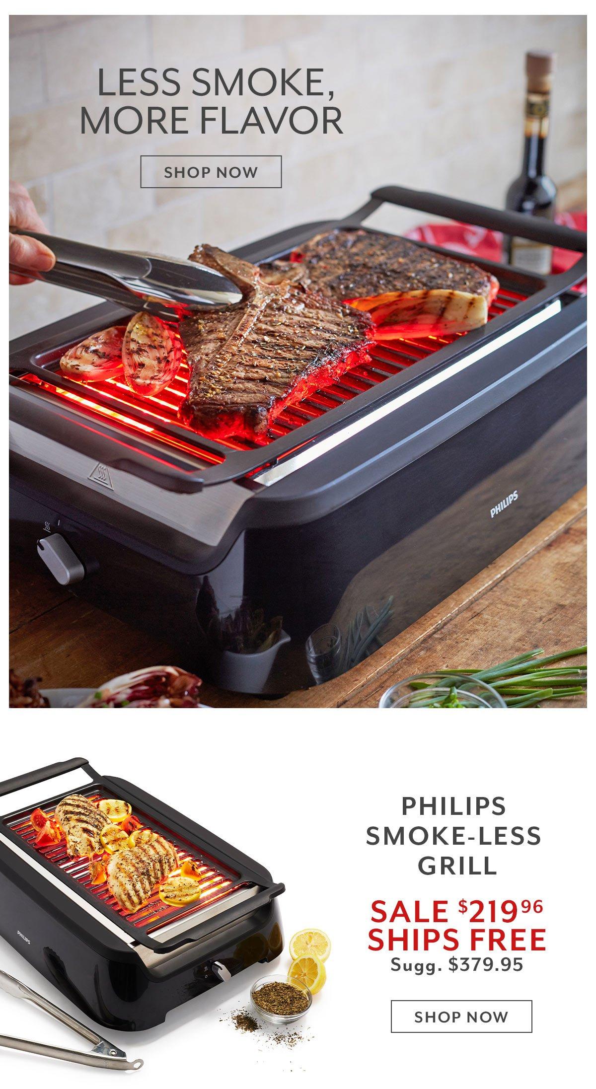 Phillips Smoke-less Grill