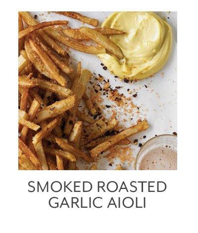 Smoked Roasted Garlic Aioli
