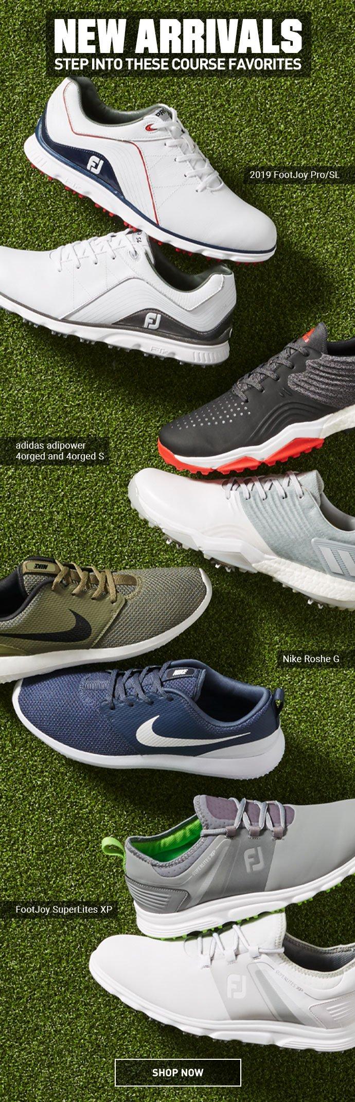 Golf Shoes from FootJoy, adidas \u0026 Nike
