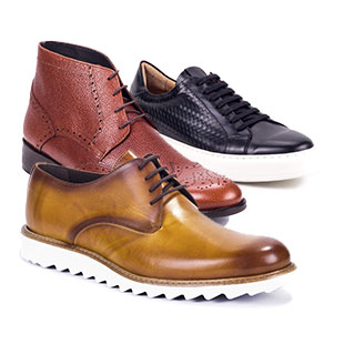 MEN'S LEATHER FOOTWEAR
