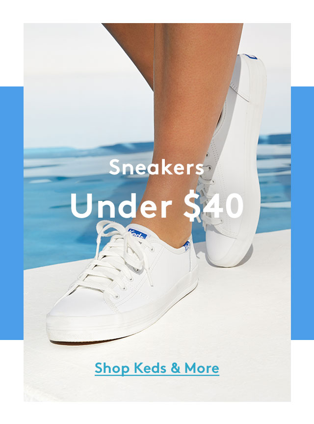 Sneakers Under $40 | Shop Keds & More
