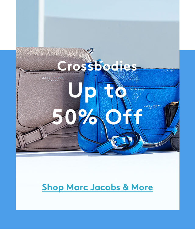 Crossbodies Up to 50% Off | Shop Marc Jacobs & More