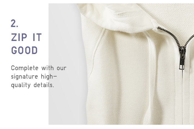 COMPLATE WITH OUR SIGNATURE HIGH-QUALITY DETAILS.