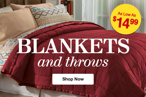 Shop Blankets & Throws!
