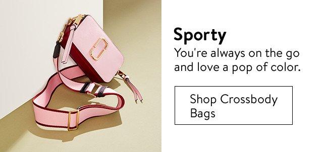 Crossbody bag.