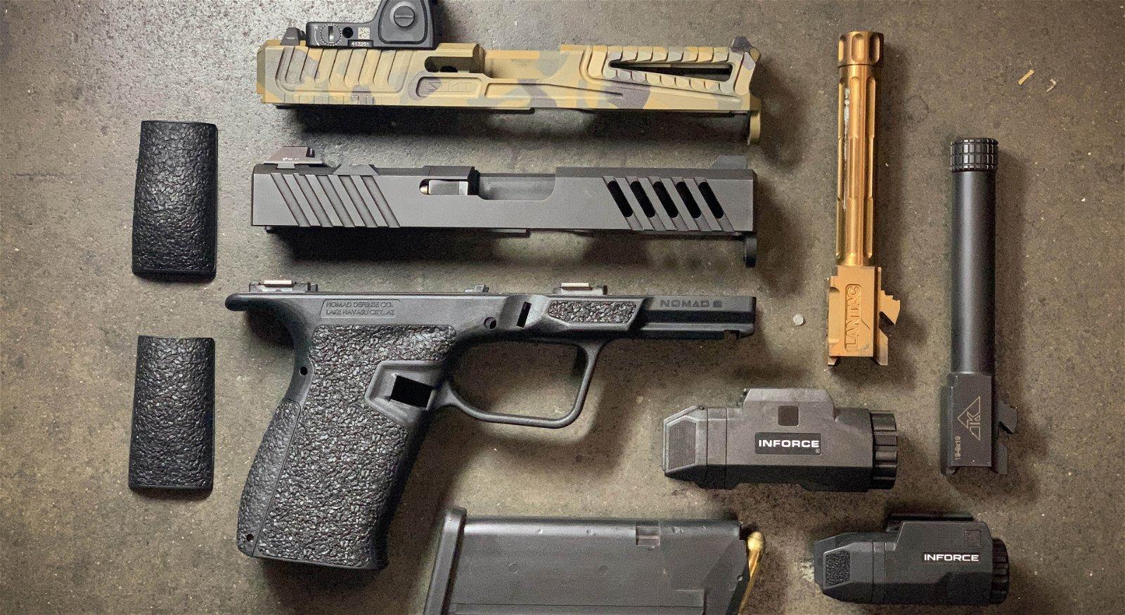 Rainier Arms: Product Spotlight: Nomad Defense Nomad 9 Glock