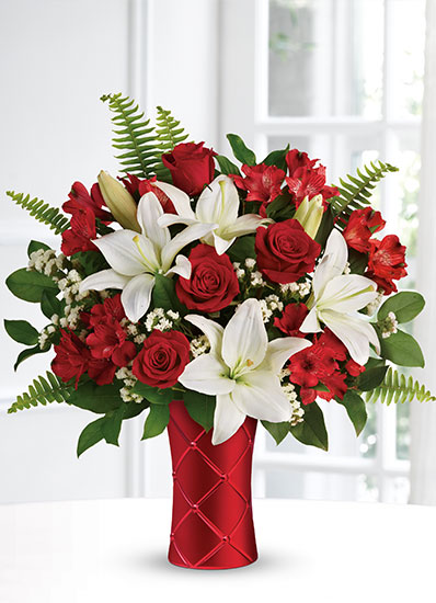 Teleflora's Sweetest Satin Bouquet