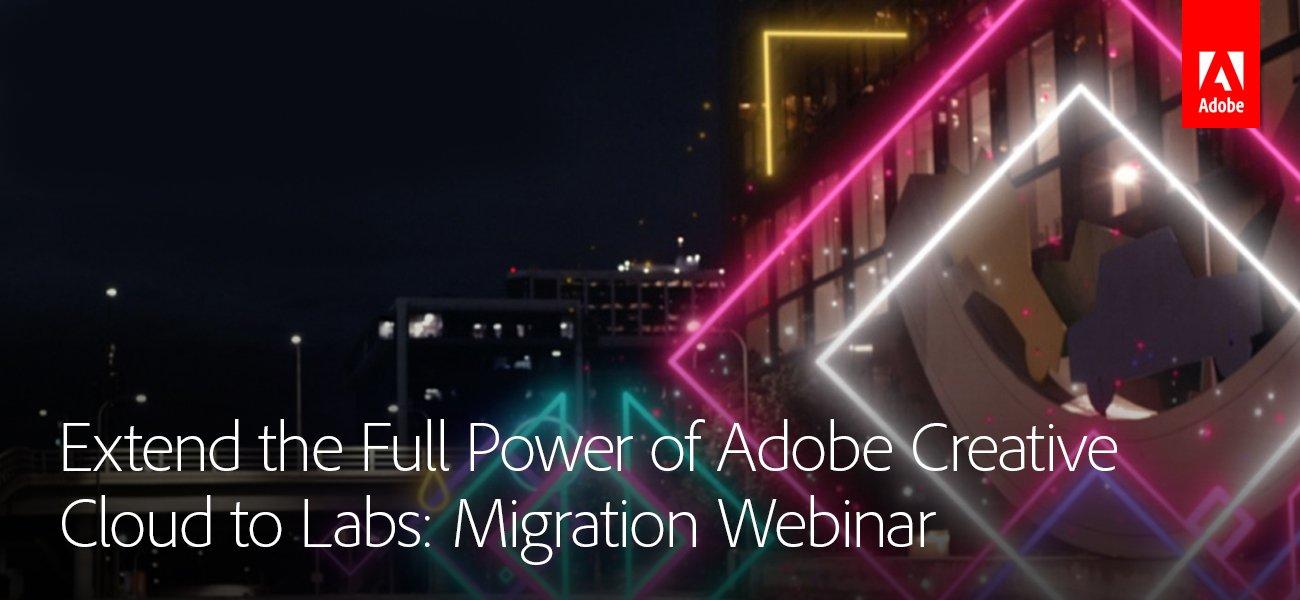 Journey Ed: WEBINAR: Adobe Creative Cloud Shared Device