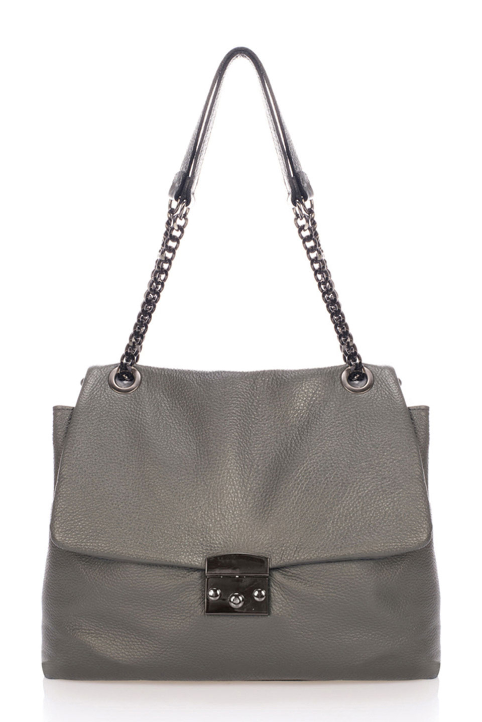 Coco Top Handle in Gray