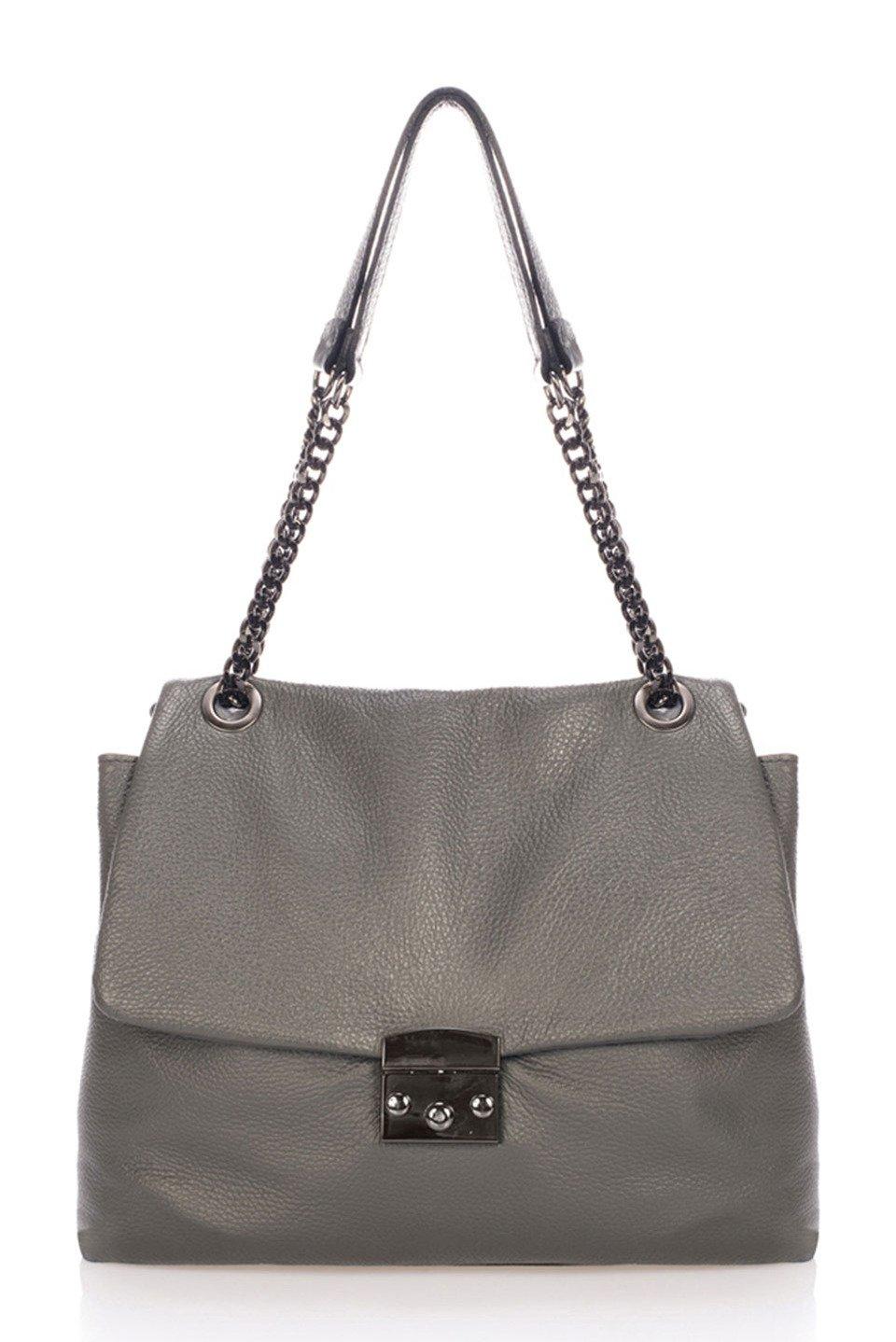 Coco Top Handle in Gray