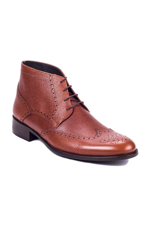 Alipbon Boots in Cognac