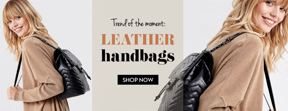 ON TREND LEATHER BAGS