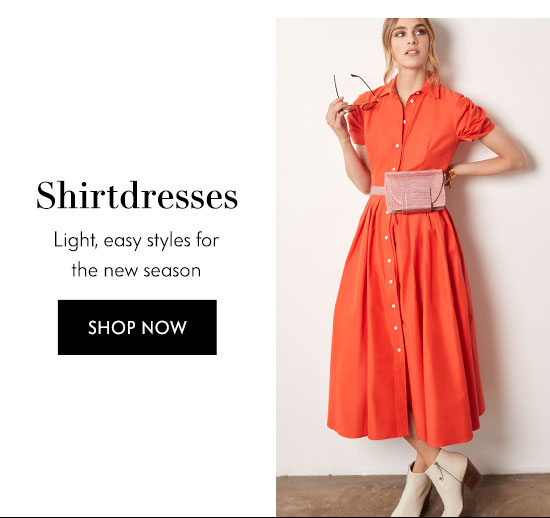Shop Shirtdresses