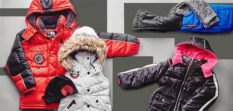 50 – 70% Off S13 & More Coats for Kids