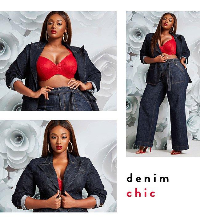 Denim chic - Shop Now