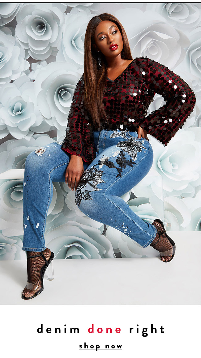 Denim done right - Shop Now