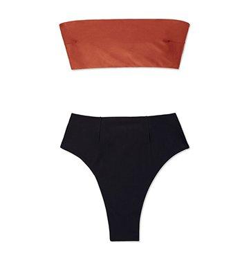 Haight Marcella Two-Tone Bikini $200