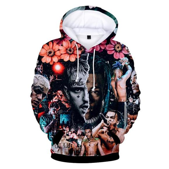 e9ae0dc229e1c 2018 XXXtentacion and lil peep 3D Print Hoodies Sweatshirts Harajuku Women Men  long sleeve streetwear hit hop streetwear Clothes