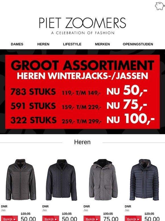 Zoomers.nl: Groot assortiment heren winterjacks en jassen