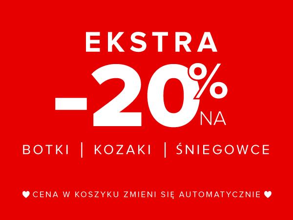 70872383af3f Primamoda PL  EXTRA -20% na Botki