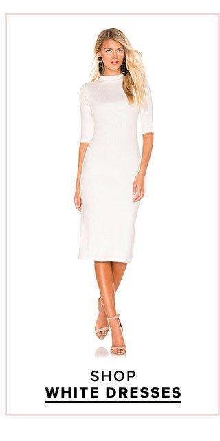 Dress Fever: Shop White Dresses