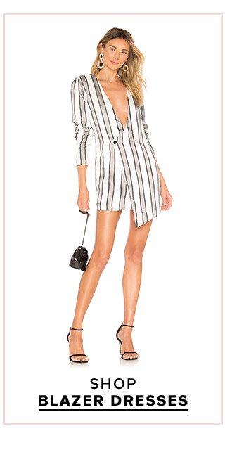 Dress Fever: Shop Blazer Dresses