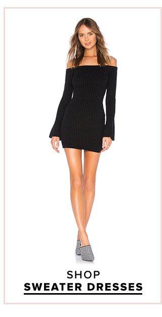 Dress Fever: Shop Sweater Dresses