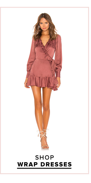 Dress Fever: Shop Wrap Dresses