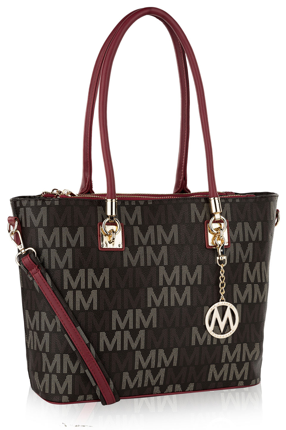 Vanessa M Signature Tote in Red