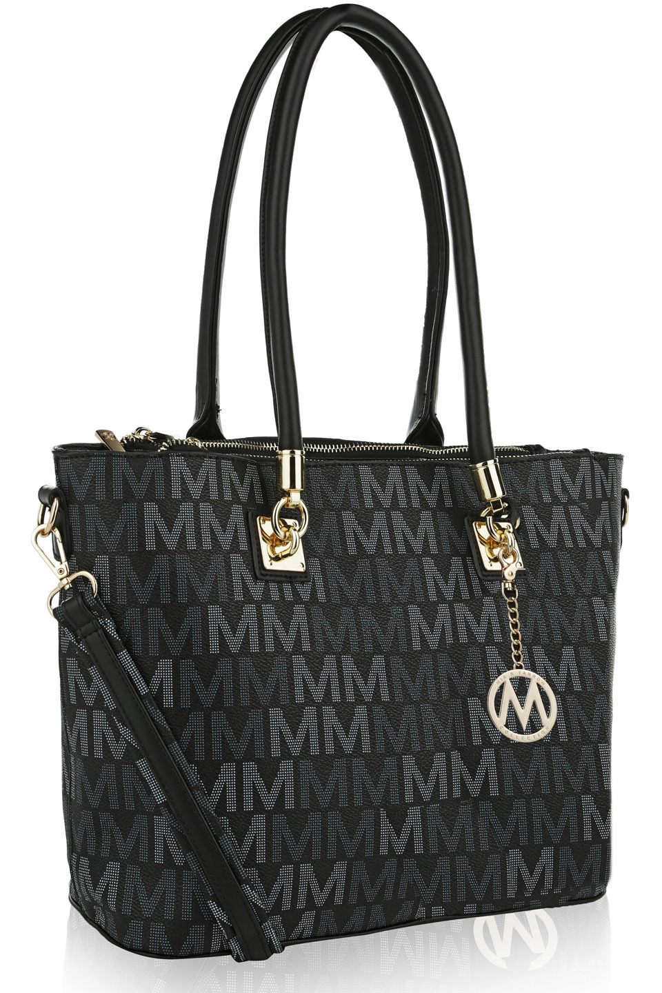 VanessaM Signature Tote in Black