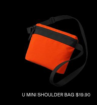 U MINI SHOULDER BAG $19.90